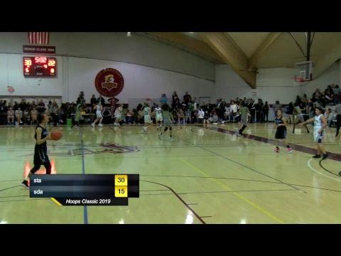 Hoops Classic 2019 (South Texas Christian Academy v.s. Sandia View Academy)