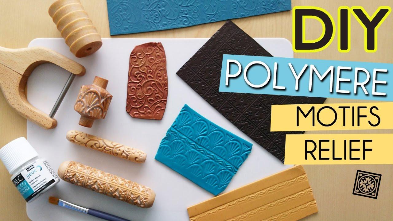 diy polymere comment texturer et donner du relief. Black Bedroom Furniture Sets. Home Design Ideas