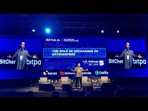 J.D. Salbego Speaks at Blockchain Economy Conference 2020 - Istanbul
