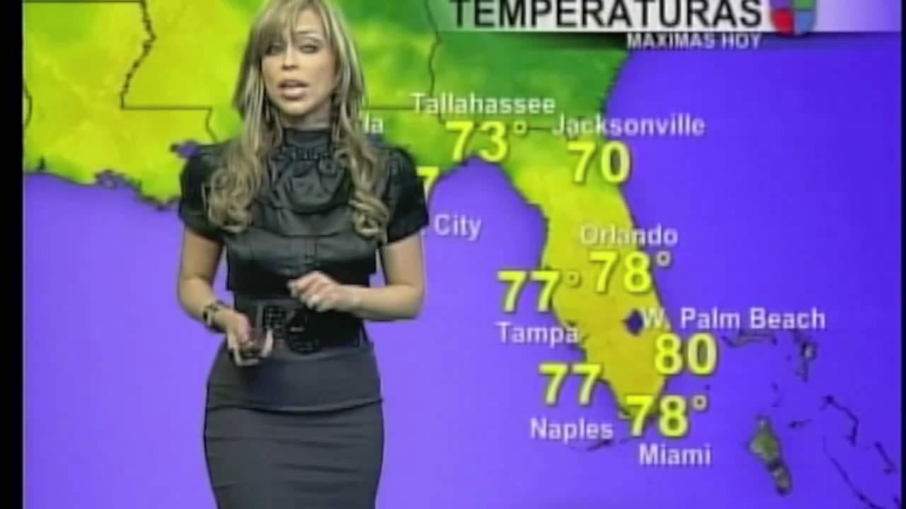 Jessica reyes informando las condiciones del tiempo - Tiempo en paracuellos del jarama ...