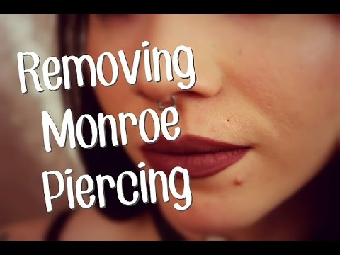 Why I Removed My Monroelip Piercing Youtube