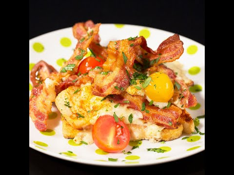 Turkey Casserole with Bacon and Bechamel Sauce