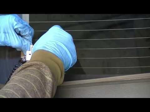 How To Repair Defroster Tabs And Grid Lines. Defogger Repair Kit.