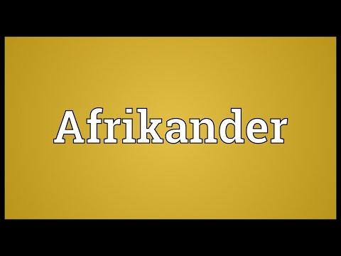 Header of Afrikander