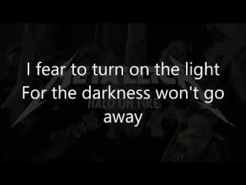 Metallica - Halo On Fire  karaoke (lyrics on screen, but no cue)