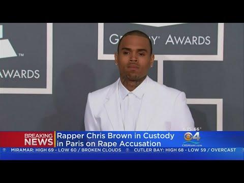 Carmen - Chris Brown Arrested In Paris Accused Of Rape