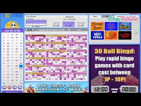 New Look Bingo - Video Review By BingoReviewer