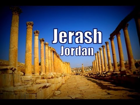 Visiting Jerash, Jordan Travel Video (Gerasa of Antiquity - Γέρασα - محافظة جرش)