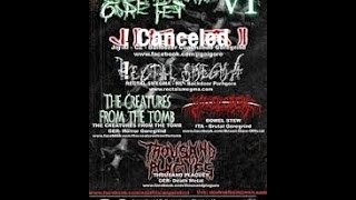 Eastfrisian Gore Fest VI - The Creatures from the Tomb , Bowel Stew , Rectal Smegma
