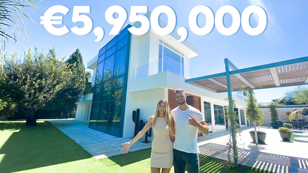 INSIDE A €5,950,000 LUXURY MODERN MARBELLA VILLA