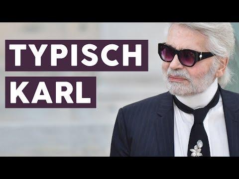 Rip Die Besten Zitate Von Karl Lagerfeld Youtube