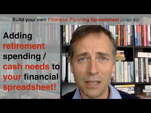 Build your own Financial Planning Spreadsheet (part 5) - adding retirement spending