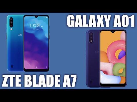Samsung Galaxy A01 Vs ZTE Blade A7 2020. Сравнение бюджетных моделей!