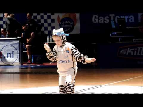 Basketball, our Mini mascot, Mini Thunder