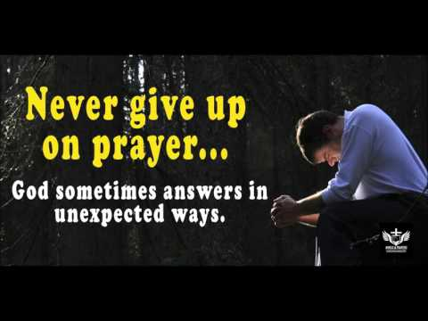 God answers prayers in unexpected ways.  Never give up praying!