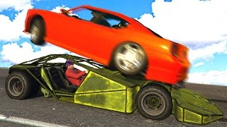 NEW BEST CAR WITH A RAMP! (GTA 5 Funny Moments)
