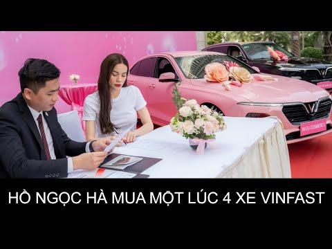 Nghệ sĩ Showbiz Việt kéo nhau đi mua xe Vinfast   Hồ Ngọc Hà chi tiền tỷ mua hẳn 4 chiếc Vinfast