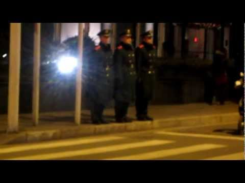 China's Police State: Shanghai Soldiers