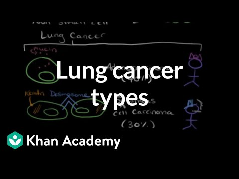 Lung cancer types | Respiratory system diseases | NCLEX-RN | Khan Academy