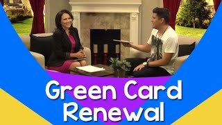 Immigration: Green Card Renewal: 5 Frequently Asked Questions – JessicaDominguezTV