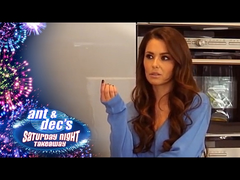 Cheryl Fernandez-Versini's 'Get Out Of Me Ear!' Prank With Ant & Dec - Saturday Night Takeaway