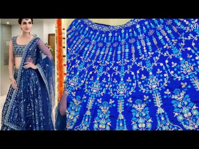 Amazon lehenga|wedding lehenga at Amazon|Amazon lehenga review|online shopping review|blue lehenga