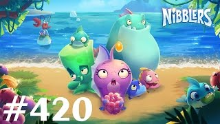 nibblers level 420 boss bigtooth gameplay walkthrough rovio entertainment no boosters