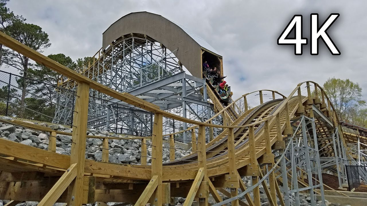 Invadr off ride 4k busch gardens williamsburg youtube - Busch gardens williamsburg rides ...