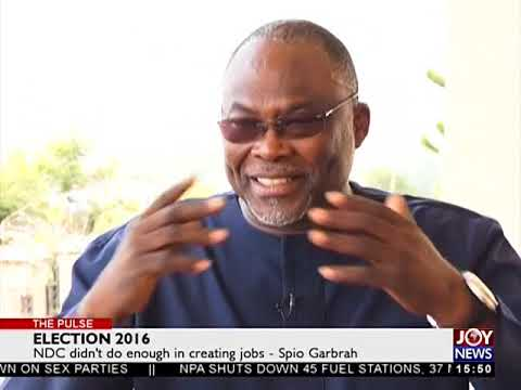 Dr. Spio Garbrah on Prof Kwesi Botchwey Report - The Pulse on JoyNews (1-11-17)