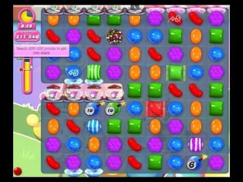 Candy Crush Saga Level 2210 - NO BOOSTERS + HAPPY HOLIDAYS 🎅🎁🎄⭐