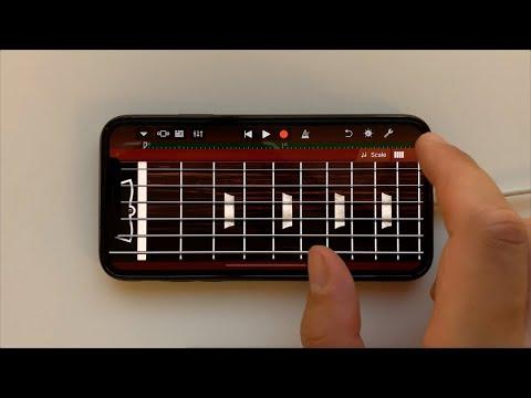 AC/DC - Thunderstruck on iPhone (GarageBand)