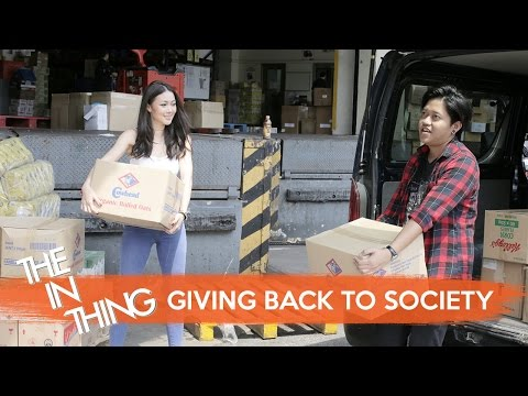 Giving Back To Society - The In Thing: EP 8