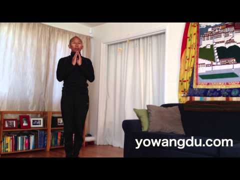 How to Prostrate in the Tibetan Buddhist Style