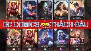 Team DC COMICS đối đầu Team Top 1 Thách đấu - Sức mạnh không tưởng của 5 anh em Siêu nhân