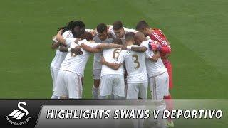 Swans TV - Highlights: Swans v Deportivo La Coruna