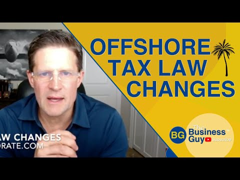 Offshore Law Changes Economic Substance & OECD and EU
