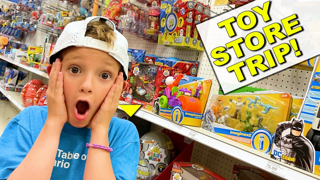 Father & Son TOY AISLE ADVENTURE TIME!