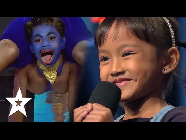 10 UNFORGETTABLE AMAZING KID AUDITIONS On Asia's Got Talent