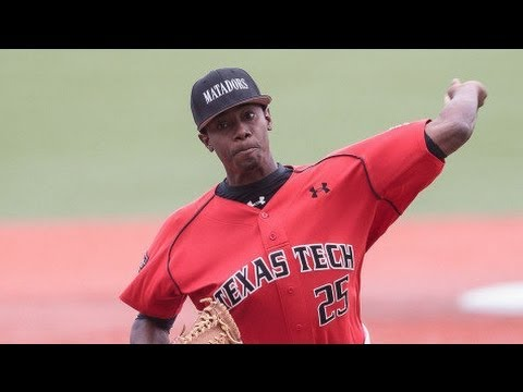 Texas Tech LHP Andre Wheeler