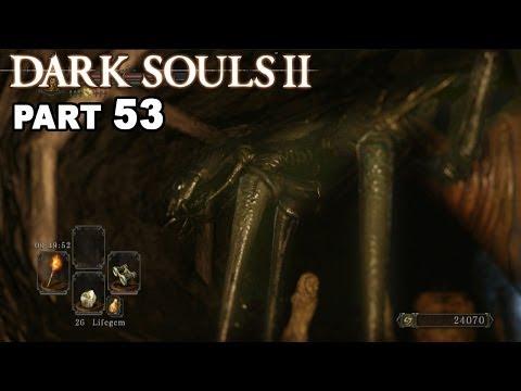 Let's play DARK SOULS 2 (Blind) #53 Upper Gutter, Strange Giant Insect