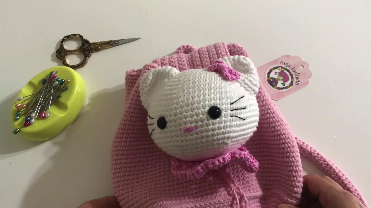 Hello Kitty Çocuk Çanta Yapımı (MALZEME LİSTESİ)