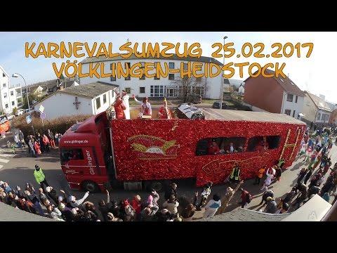 Karnevalsumzug VK-Heidstock 25.02.2017 [CC-BY-SA] [1080p]