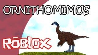 DINOSAUR SIMULATOR (Roblox) | (PI) ORNITHOMIMUS | Gameplay Español