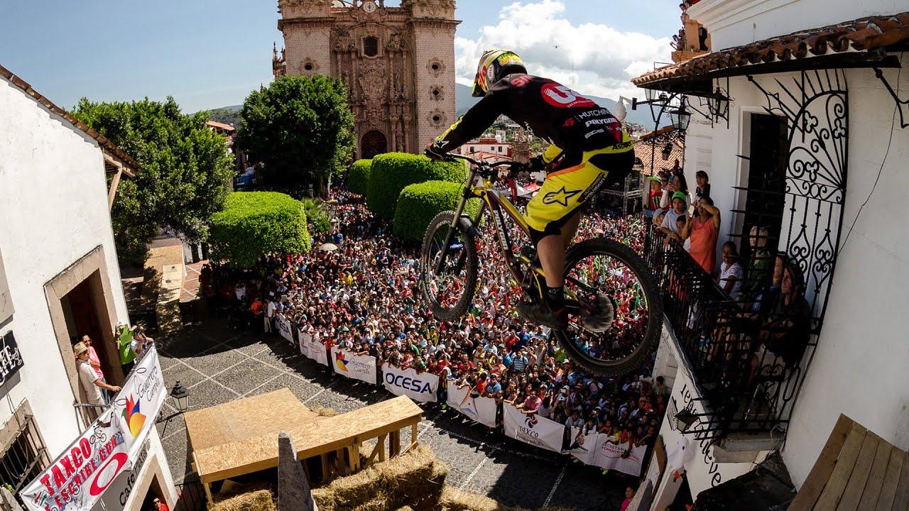 Mick Hannah Race Run Urban Downhill Taxco 2014 Youtube
