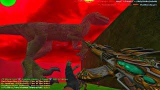 Counter Strike 1.6 - Zombie Escape - JurassicPark v2 | World War'Z [RETEXTURED]