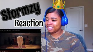 STORMZY - CROWN (OFFICIAL PERFORMANCE VIDEO) Reaction!!