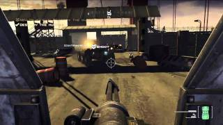 Homefront - Humvee Turret gameplay (Single player) [Xbox 360]