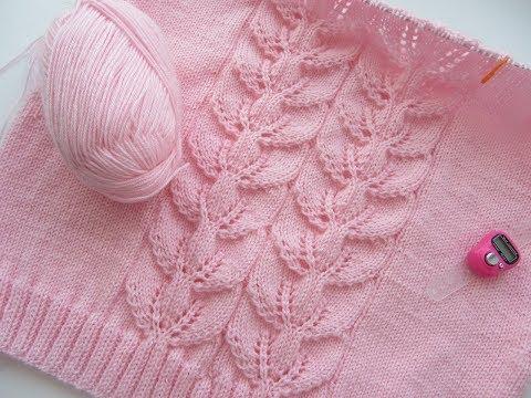 Вязание спицами женский джемпер