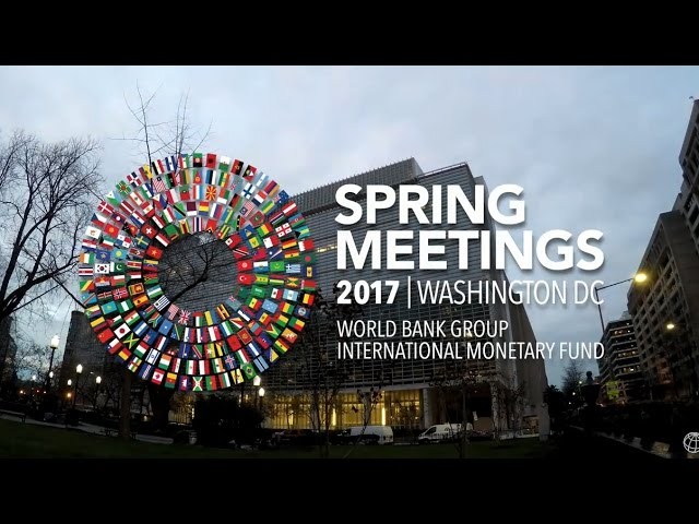 World Bank-IMF Spring Into the Meetings