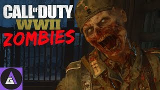 THE BEST ZOMBIES YET!? 🔫 Call of Duty WW2 4 Player Mutli-Cam Squad 🔫 COD WW2 Squad PC Gameplay